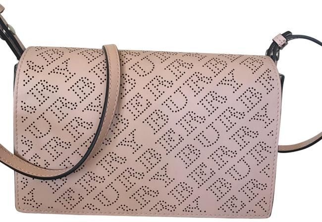 Burberry Pale Fawn Pink Leather Shoulder Bag Burberry Pale Fawn Pink Leather Shoulder Bag Image 1