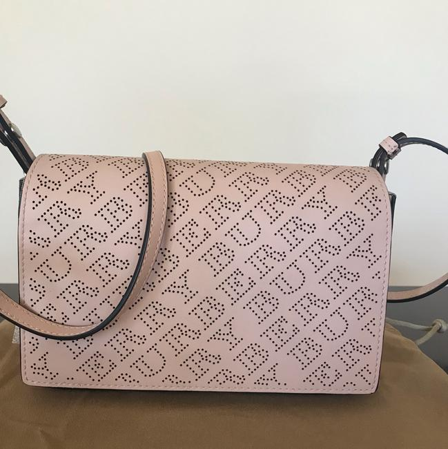 Burberry Pale Fawn Pink Leather Shoulder Bag Burberry Pale Fawn Pink Leather Shoulder Bag Image 6