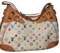 Louis Vuitton Satchel in white , rainbow LV Image 0