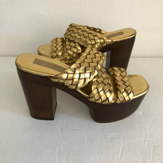Michael Kors GOLD Platforms Image 1