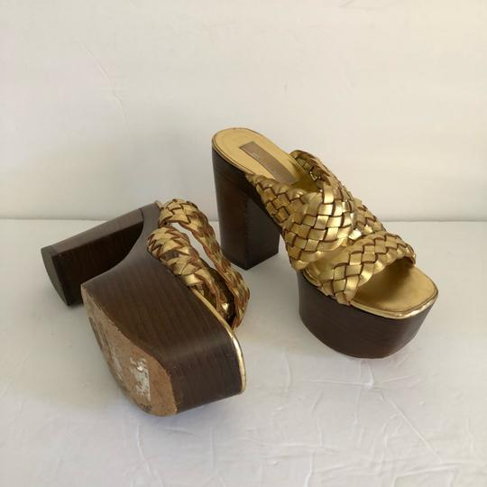 Michael Kors GOLD Platforms Image 2