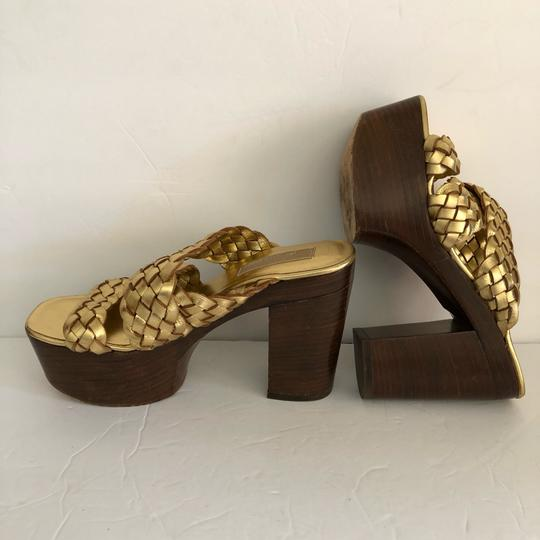 Michael Kors GOLD Platforms Image 3