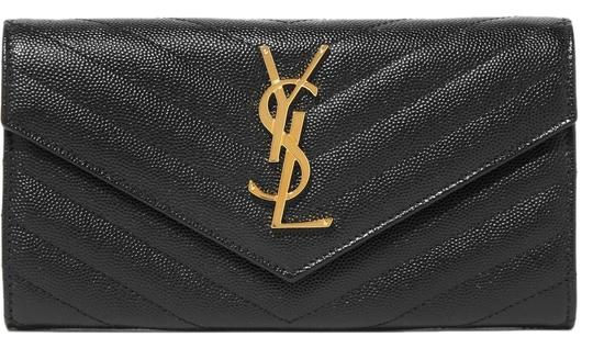 Preload https://img-static.tradesy.com/item/25946514/saint-laurent-black-quilted-textured-leather-wallet-0-1-540-540.jpg