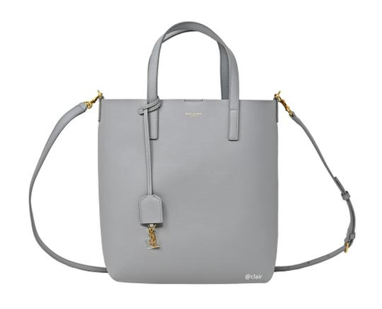 Preload https://img-static.tradesy.com/item/25946524/saint-laurent-monogram-toy-shopping-grey-leather-tote-0-1-540-540.jpg