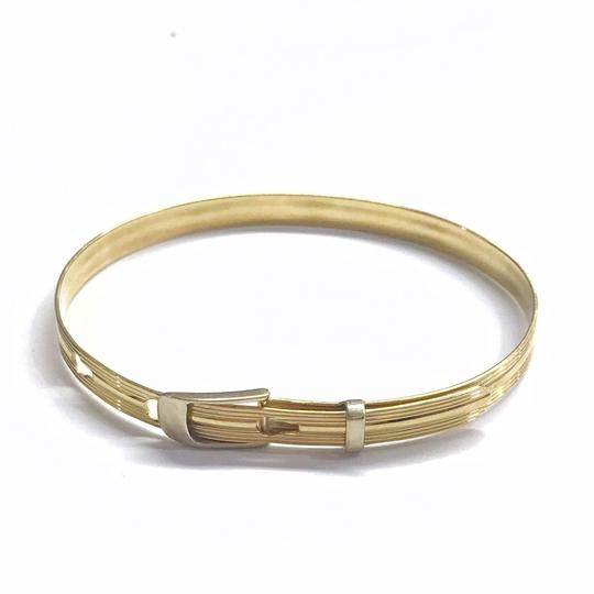 Preload https://img-static.tradesy.com/item/25946571/estate-collection-14-karat-yellow-gold-bangle-bracelet-0-0-540-540.jpg