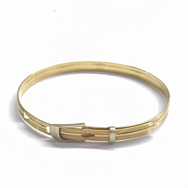 Estate Collection 14 Karat Yellow Gold Bangle Bracelet Estate Collection 14 Karat Yellow Gold Bangle Bracelet Image 1