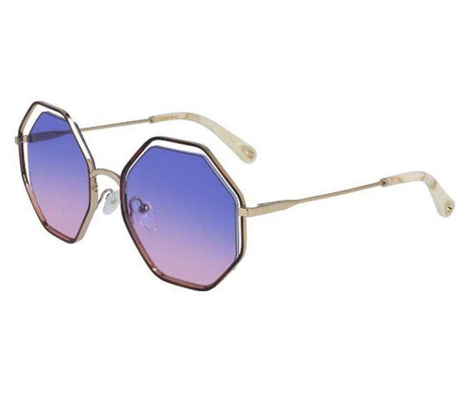 Chloé Havana - Purple Rose Ce132s 870 Sunglasses Chloé Havana - Purple Rose Ce132s 870 Sunglasses Image 1