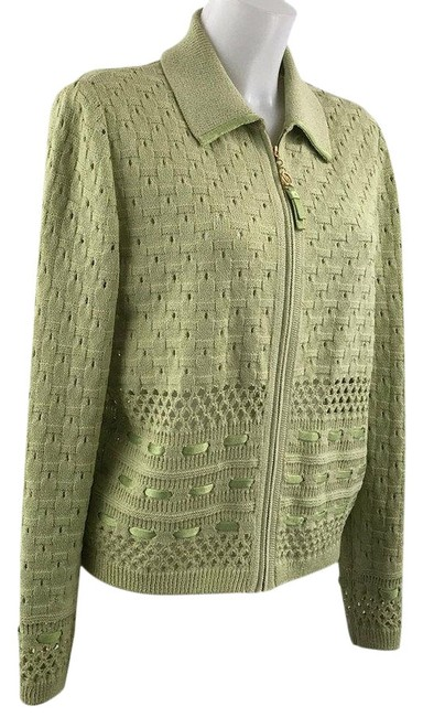 Preload https://img-static.tradesy.com/item/25946612/st-john-sport-front-zip-jacket-size-medium-green-sweater-0-1-650-650.jpg