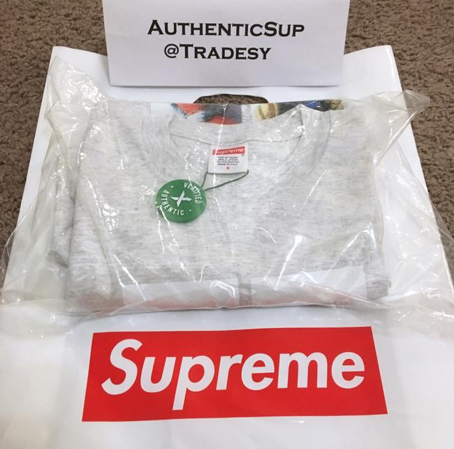 Supreme T Shirt Ash Grey Image 5