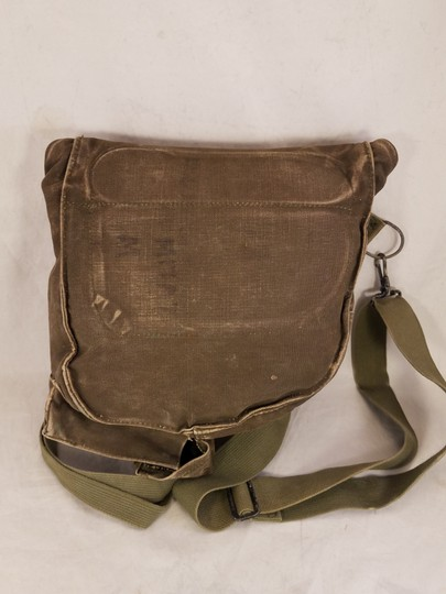 unbranded Vintage Army Navy Marine Military Field green Messenger Bag Image 1