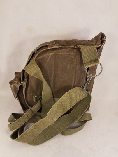 unbranded Vintage Army Navy Marine Military Field green Messenger Bag Image 2