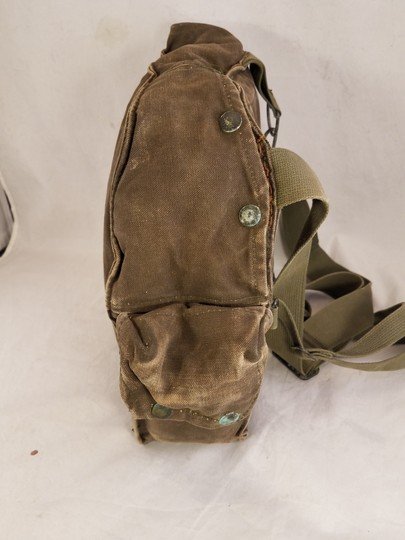 unbranded Vintage Army Navy Marine Military Field green Messenger Bag Image 4