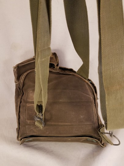 unbranded Vintage Army Navy Marine Military Field green Messenger Bag Image 5