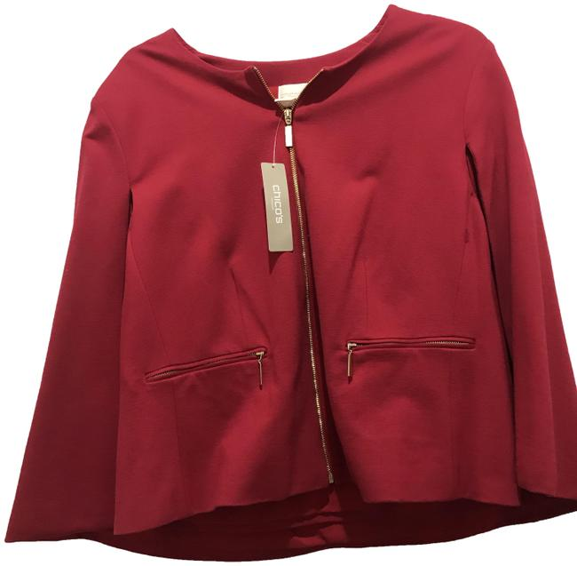 Preload https://img-static.tradesy.com/item/25946673/chico-s-red-cape-jacket-size-14-l-0-1-650-650.jpg