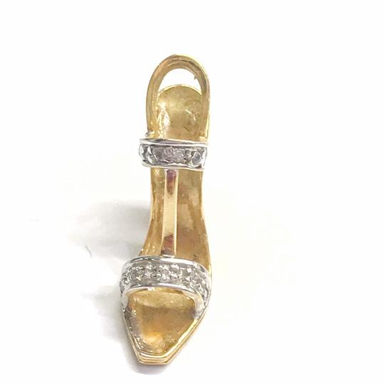 DeWitt's ESTATE COLLECTION!! 14 Karat Yellow and White Gold and Diamond Pendant Image 1