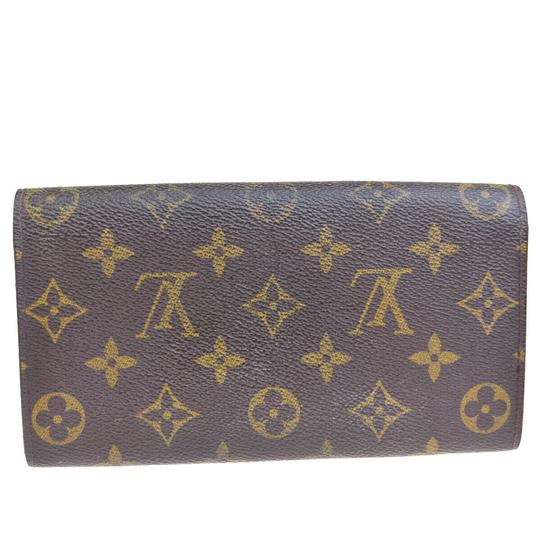 Louis Vuitton Authentic LOUIS VUITTON Porte Monnaie Credit Long Bifold Wallet Purse Image 5
