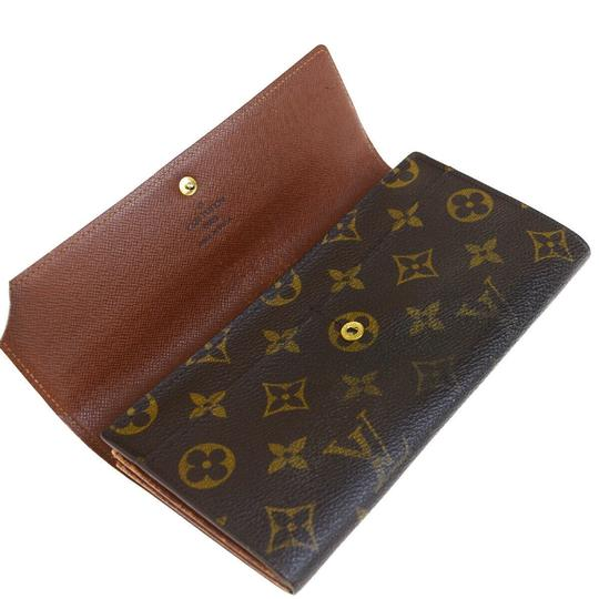 Louis Vuitton Authentic LOUIS VUITTON Porte Monnaie Credit Long Bifold Wallet Purse Image 6
