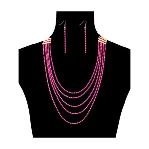 UNBRANDED Chain Layered Necklace Set