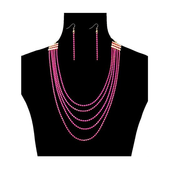 Preload https://img-static.tradesy.com/item/25946761/pink-chain-layered-necklace-0-0-540-540.jpg