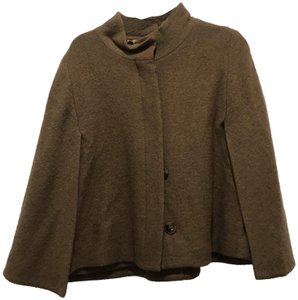 CHICO'S BREVITY. BROWN Jacket
