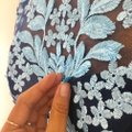 JS Collections Embroidered Bodycon Floral Dress Image 4