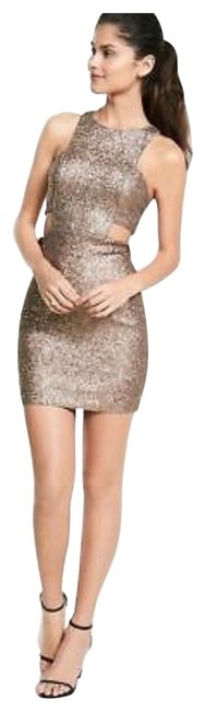 Preload https://img-static.tradesy.com/item/25946852/express-gold-sequin-bodycon-short-night-out-dress-size-12-l-0-2-650-650.jpg