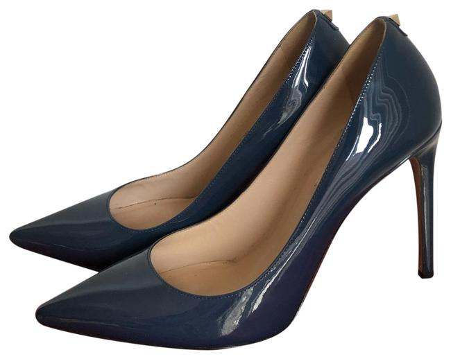 Valentino Navy With Back Stud Pumps Size EU 36.5 (Approx. US 6.5) Regular (M, B) Valentino Navy With Back Stud Pumps Size EU 36.5 (Approx. US 6.5) Regular (M, B) Image 1