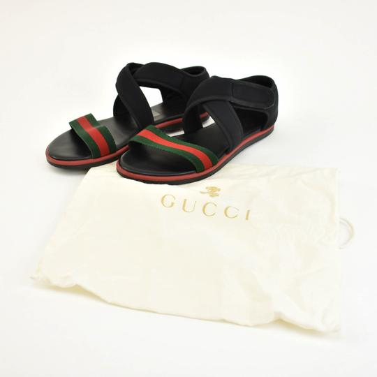 Gucci Web Stripe Children's - Black Sandals Image 1