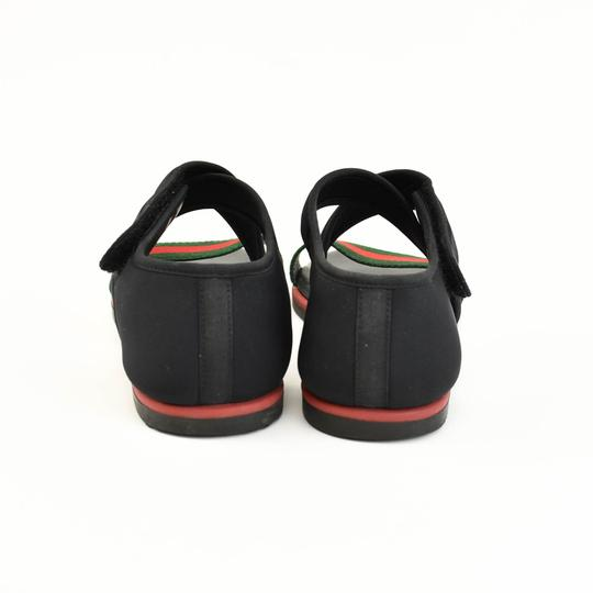 Gucci Web Stripe Children's - Black Sandals Image 7