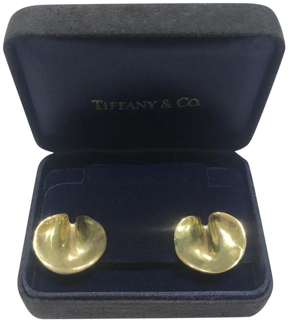 Tiffany & Co. Yellow Gold Angela Cummings Lily Pad Earrings Tiffany & Co. Yellow Gold Angela Cummings Lily Pad Earrings Image 1