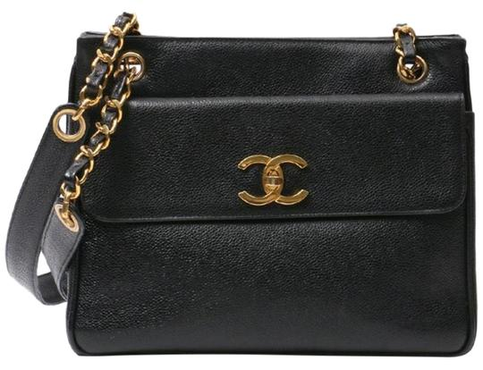Preload https://img-static.tradesy.com/item/25947197/chanel-timeless-shopping-vintage-cc-logo-small-black-caviar-leather-tote-0-1-540-540.jpg