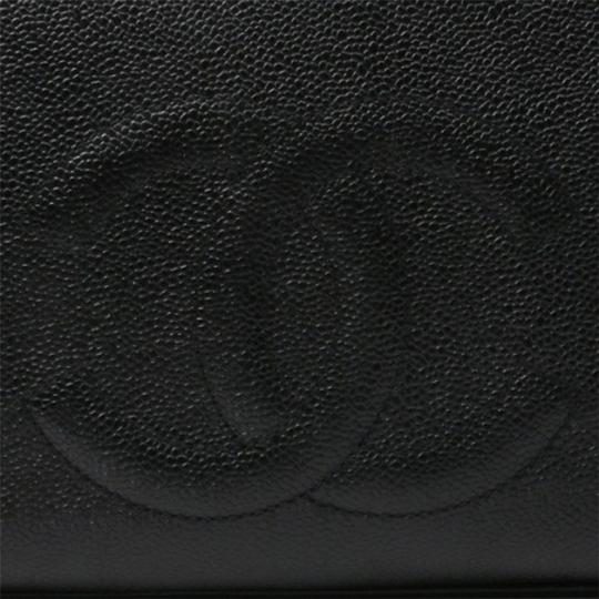 Chanel Vintage Caviar Shoulder Tote in black Image 5