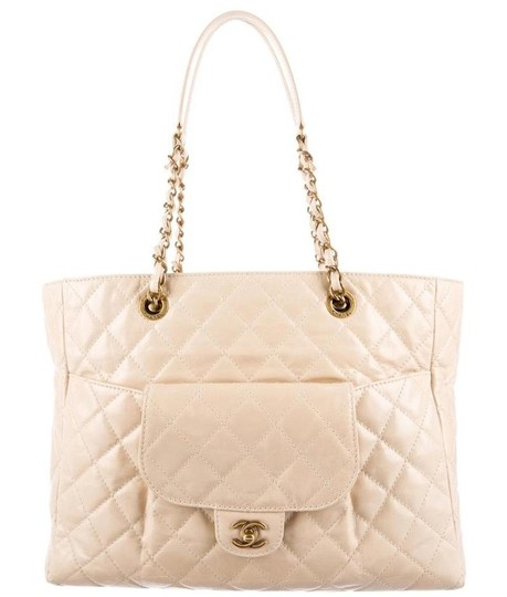 Preload https://img-static.tradesy.com/item/25947339/chanel-glazed-quilted-large-front-pocket-flap-classic-grand-shopping-ivory-cream-white-beige-gold-ca-0-1-540-540.jpg