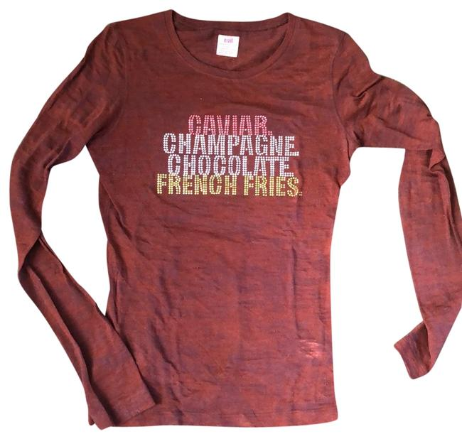 Preload https://img-static.tradesy.com/item/25947429/evil-burgundy-caviar-champagne-chocolate-french-fries-tee-shirt-size-4-s-0-1-650-650.jpg