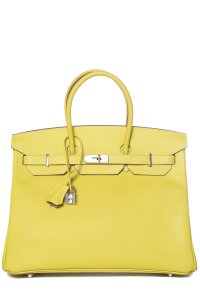 Hermès Tote in Soufre Yellow