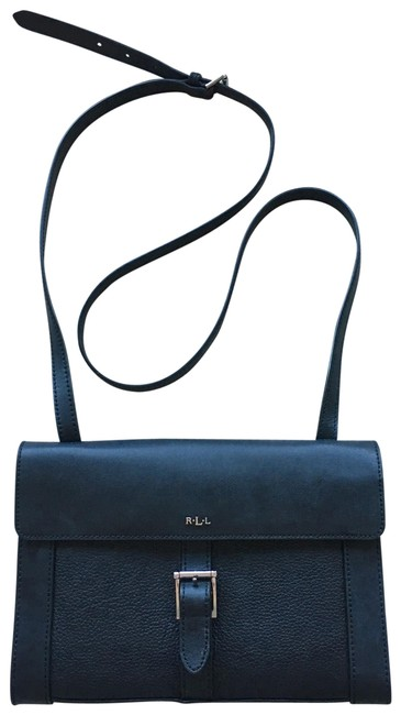 Ralph Lauren Black Leather Cross Body Bag Ralph Lauren Black Leather Cross Body Bag Image 1