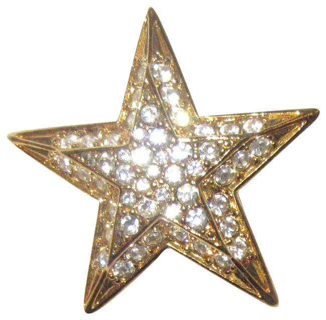 Joan Rivers Lot Of 3 Estate Crystal Star Pins From Joan's Personal Collection Joan Rivers Lot Of 3 Estate Crystal Star Pins From Joan's Personal Collection Image 1