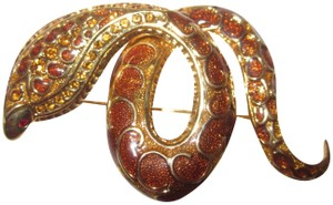 Joan Rivers Estate Snake Pin From Joan's Personal Jewel Collection!