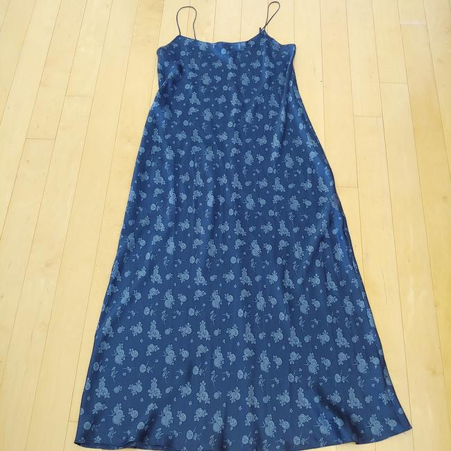 Navy Maxi Dress by Vince Image 3
