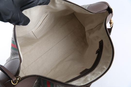 Gucci Leather Brown Travel Bag Image 11