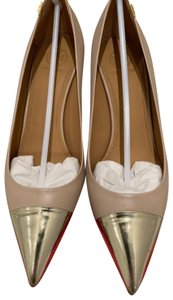 Tory Burch Light Taupe/Spark Gold Pumps
