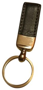 Barneys New York Leather Keyring New w Tags