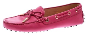 Tod's Leather Rubber Purple Flats