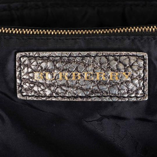 Burberry Ff9bush003 Vintage Leather Shoulder Bag Image 5