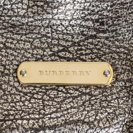 Burberry Ff9bush003 Vintage Leather Shoulder Bag Image 9