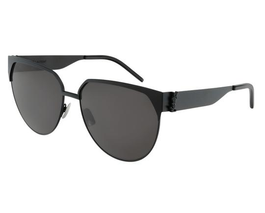 Preload https://img-static.tradesy.com/item/25948993/saint-laurent-blackgrey-001-new-monogram-sl-m43-001-blackgrey-sunglasses-0-0-540-540.jpg