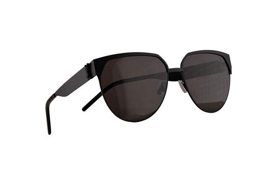 Saint Laurent NEW SAINT LAURENT MONOGRAM SL M43-001 BLACK/GREY SUNGLASSES Image 1