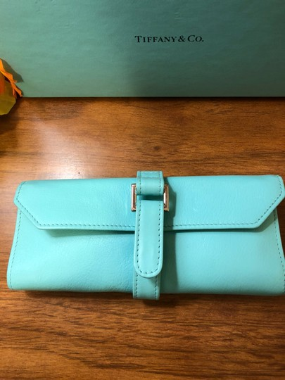 Tiffany & Co. Leather Jewelry Roll Image 1
