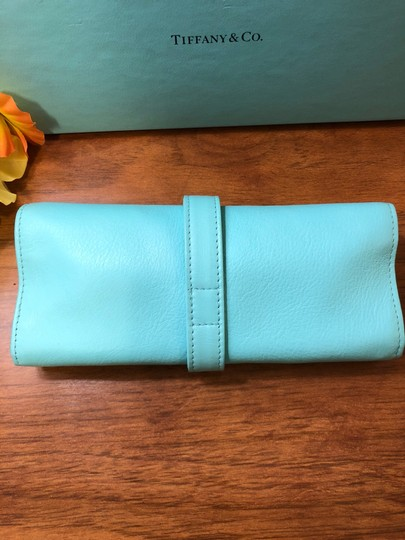 Tiffany & Co. Leather Jewelry Roll Image 6