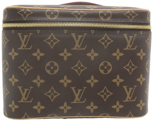 Louis Vuitton Beauty Case Nice Cosmetic Brown Monogram Canvas